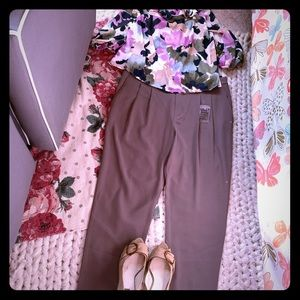 Uniqlo Taupe Trousers
